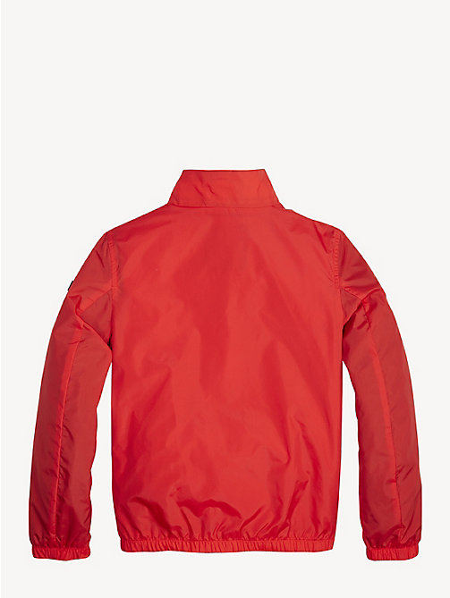TOMMY HILFIGER Essential Zip-Thru Jacket - FLAME SCARLET - TOMMY HILFIGER Coats & Jackets - detail image 1