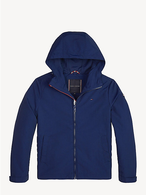 TOMMY HILFIGER Packable Hooded Jacket - BLACK IRIS - TOMMY HILFIGER Coats & Jackets - detail image 1