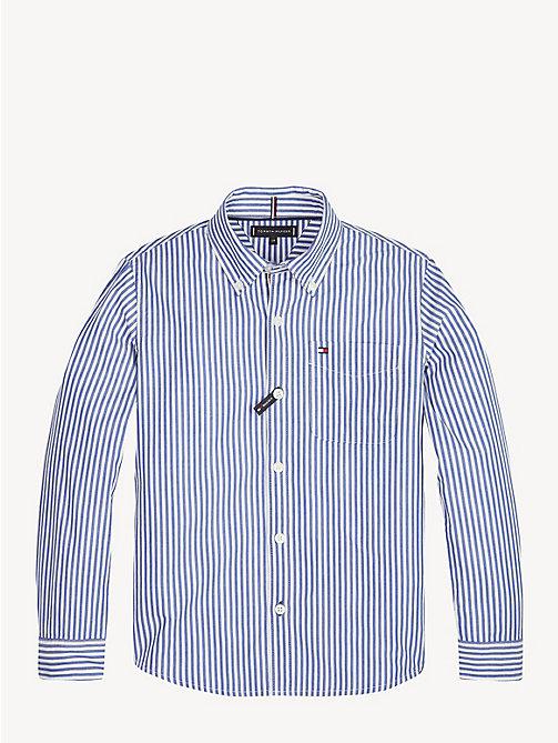 TOMMY HILFIGER Essential Hemd aus reiner Baumwolle - LIMOGES - TOMMY  HILFIGER Hemden - main image ... bc42bb34f7