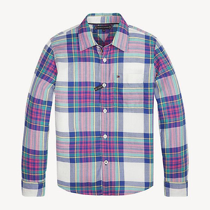 a08569a77 Herringbone Check Shirt | Tommy Hilfiger