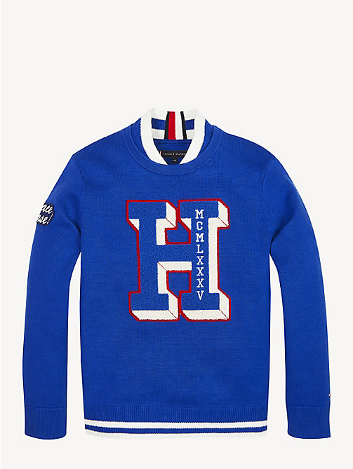 TOMMY HILFIGER Pullover Letterman - LIMOGES - TOMMY HILFIGER Maglieria - immagine principale