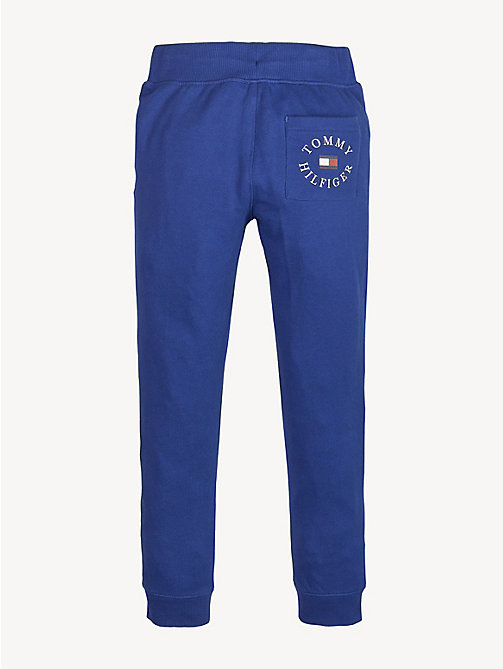 TOMMY HILFIGER Colour-Blocked Drawstring Joggers - LIMOGES - TOMMY HILFIGER Trousers & Shorts - detail image 1