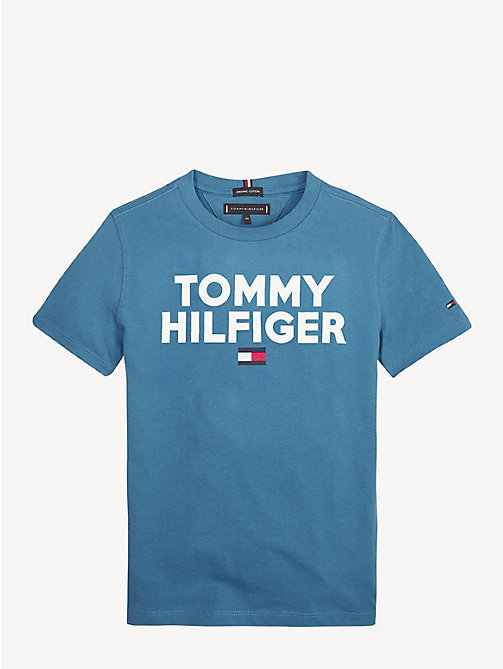 1d232a78 Boys' T-shirts & Polo Shirts | Long Sleeve Tops | Tommy Hilfiger® UK