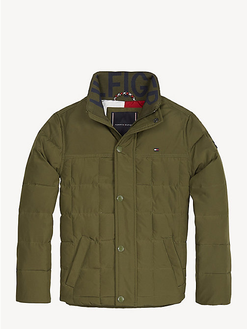 4eaf2b2b4772 chaqueta acolchada de tejido reciclado green de boys tommy hilfiger