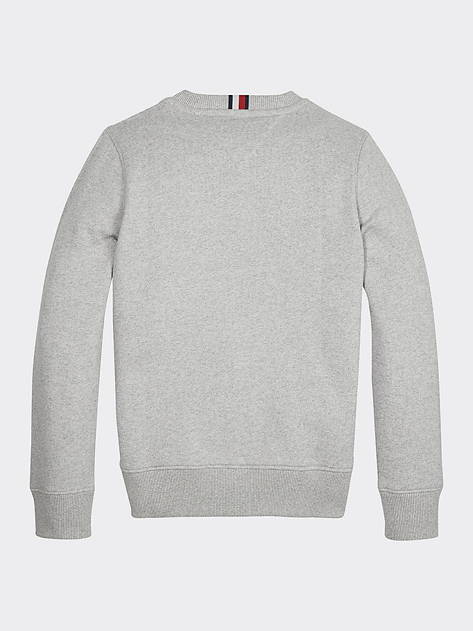Essential Logo Crew Neck Sweatshirt | GREY | Tommy Hilfiger