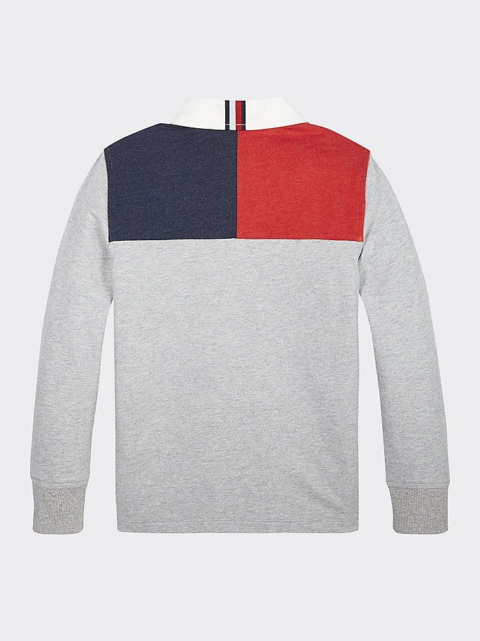 1985 Color Block Rugby Shirt