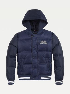 Tommy Hilfiger Boys Essential Hooded Bomber Jacket