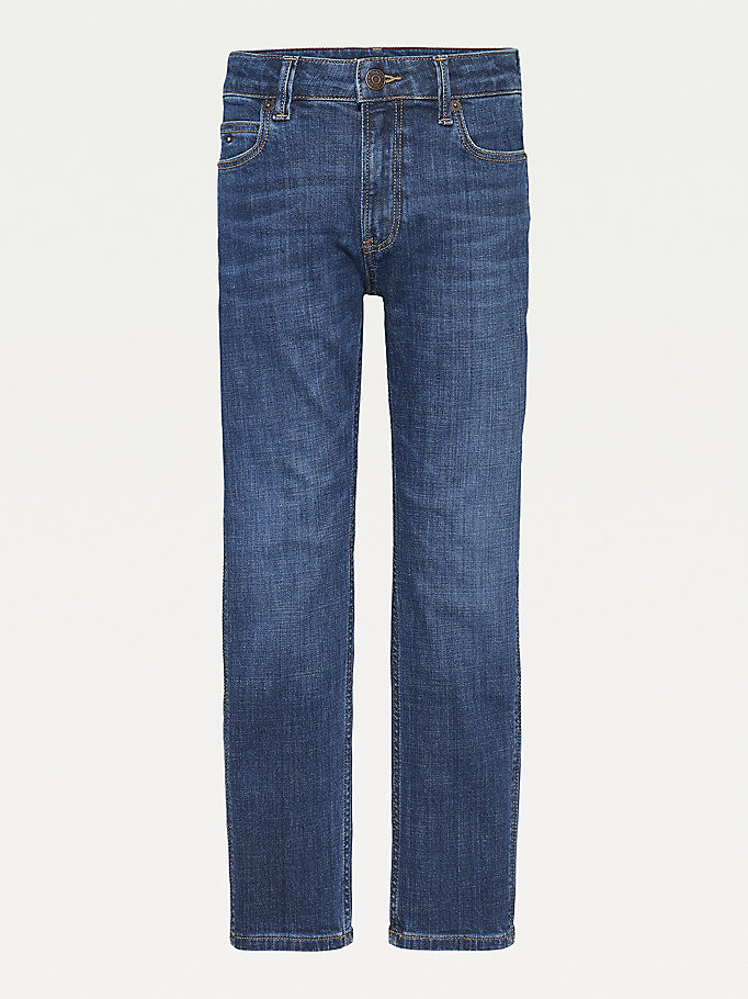 denim modern straight fit jeans for boys tommy hilfiger