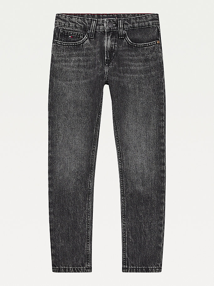 denim spencer slim tapered faded jeans for boys tommy hilfiger