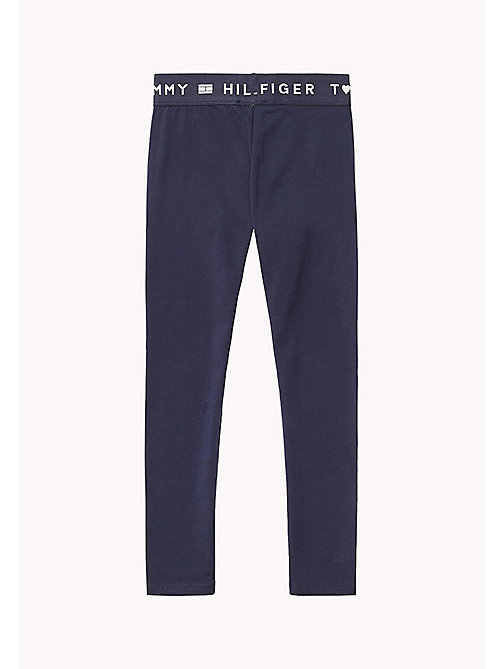 TOMMY HILFIGER Essential Legging - BLACK IRIS - TOMMY HILFIGER Trousers, Shorts & Skirts - detail image 1