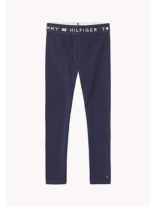 TOMMY HILFIGER Essential Legging - BLACK IRIS - TOMMY HILFIGER Trousers, Shorts & Skirts - main image
