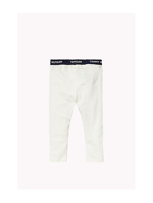 Essential Legging - BRIGHT WHITE - TOMMY HILFIGER Girls - detail image 1