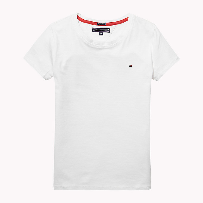 TOMMY HILFIGER Cotton Regular Fit Tee - MIDNIGHT - TOMMY HILFIGER Kids - main image