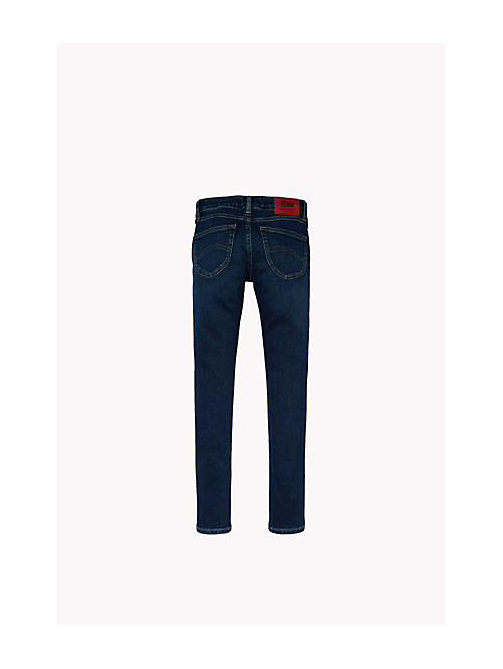 TOMMY HILFIGER Eco-Repel Skinny Fit Jeans - PROTECT DARK BLUE STRETCH - TOMMY HILFIGER Girls - detail image 1