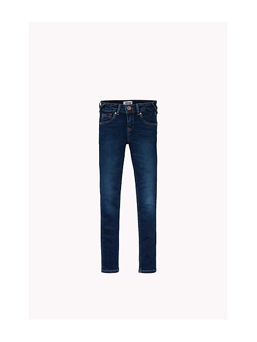 TOMMY HILFIGER Eco-Repel Skinny Fit Jeans - PROTECT DARK BLUE STRETCH - TOMMY HILFIGER Girls - main image