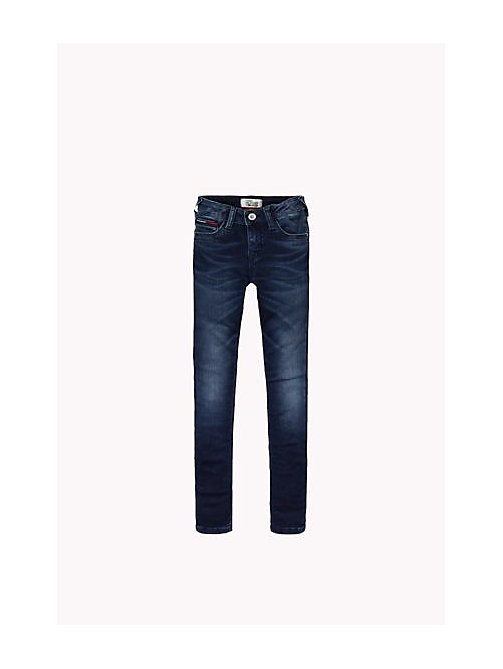 TOMMY HILFIGER Skinny Fit Jeans - SLIGA BLUE STRETCH - TOMMY HILFIGER Girls - main image