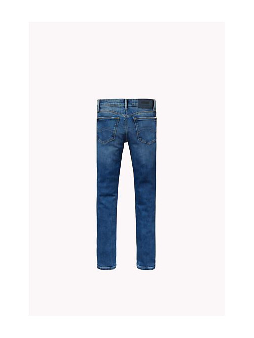 TOMMY HILFIGER Eco-Repel Skinny Fit Jeans - PROTECT MID BLUE STRETCH - TOMMY HILFIGER Girls - detail image 1