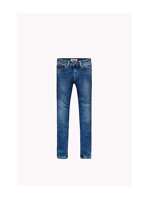 TOMMY HILFIGER Eco-Repel Skinny Fit Jeans - PROTECT MID BLUE STRETCH - TOMMY HILFIGER Girls - main image