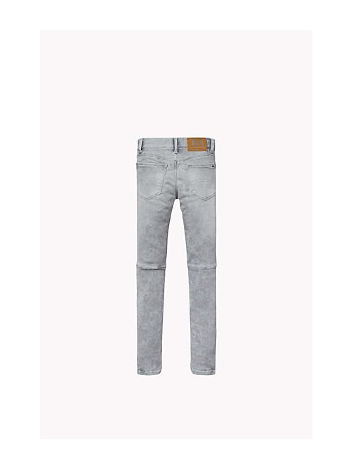 TOMMY HILFIGER Sliga Skinny Fit Jeans - SLIGA LIGHT GREY STRETCH - TOMMY HILFIGER Girls - detail image 1