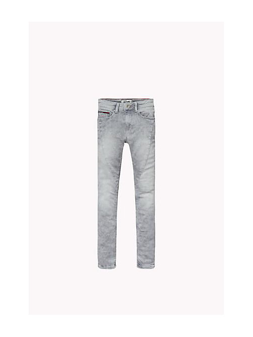 TOMMY HILFIGER Sliga Skinny Fit Jeans - SLIGA LIGHT GREY STRETCH - TOMMY HILFIGER Girls - main image