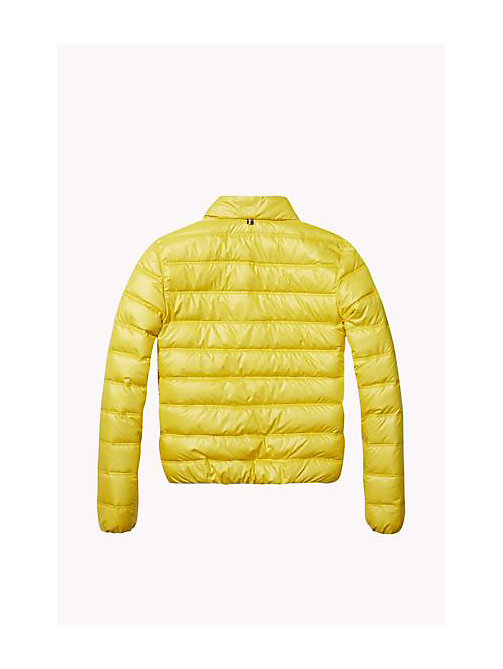 TOMMY HILFIGER Down-Filled Packable Jacket - SUPER LEMON - TOMMY HILFIGER Girls - detail image 1