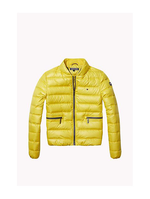 TOMMY HILFIGER Down-Filled Packable Jacket - SUPER LEMON - TOMMY HILFIGER Girls - main image