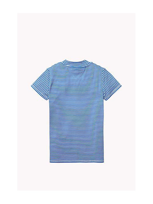 TOMMY HILFIGER Striped Top - PALACE BLUE - TOMMY HILFIGER Girls - detail image 1