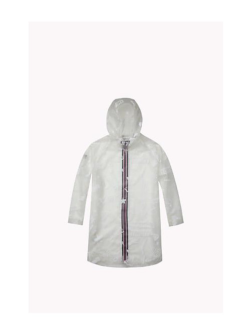 TOMMY HILFIGER Transparent Printed Rain Cape - TRANSPARANT - TOMMY HILFIGER Girls - detail image 1