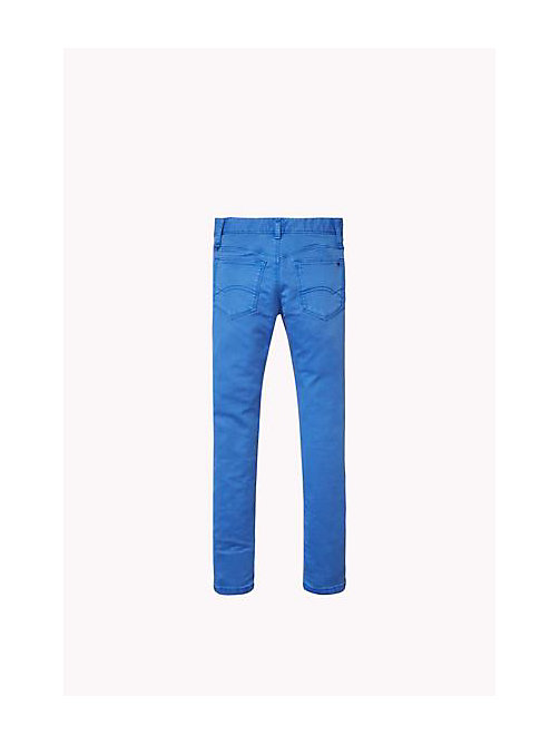 TOMMY HILFIGER Slim Fit Jeans - PALACE BLUE - TOMMY HILFIGER Girls - detail image 1