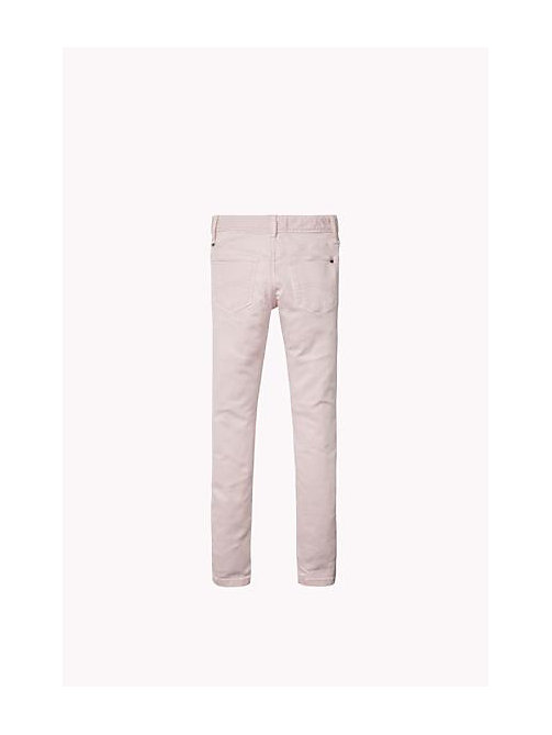 TOMMY HILFIGER Slim Fit Jeans - SOFT PINK - TOMMY HILFIGER Girls - detail image 1