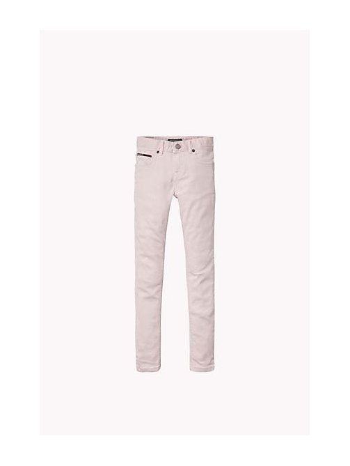TOMMY HILFIGER Slim Fit Jeans - SOFT PINK - TOMMY HILFIGER Girls - main image