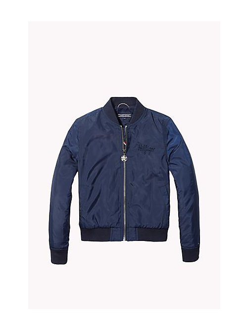 Bomber Jacket - NAVY BLAZER - TOMMY HILFIGER Girls - main image