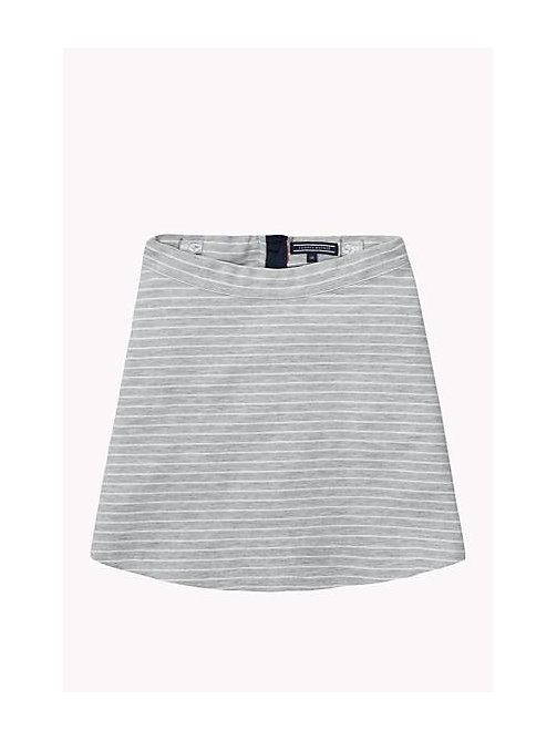 TOMMY HILFIGER Striped Skirt - GREY HEATHER - TOMMY HILFIGER Girls - main image