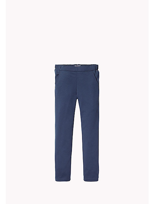 TOMMY HILFIGER Stretch Trousers - NAVY BLAZER - TOMMY HILFIGER Girls - main image