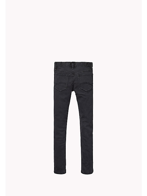 TOMMY HILFIGER Skinny Fit Trousers - TOMMY BLACK - TOMMY HILFIGER Girls - detail image 1