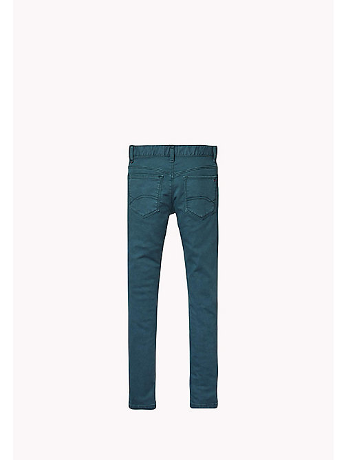 TOMMY HILFIGER Skinny Fit Trousers - GREEN GABLES - TOMMY HILFIGER Girls - detail image 1