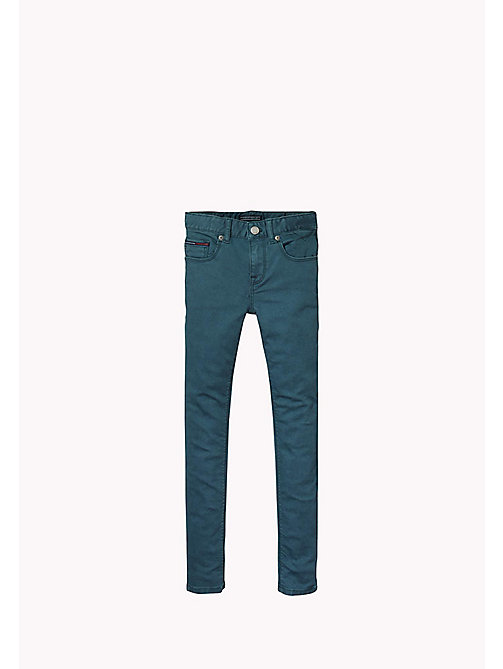 TOMMY HILFIGER Skinny Fit Trousers - GREEN GABLES - TOMMY HILFIGER Girls - main image