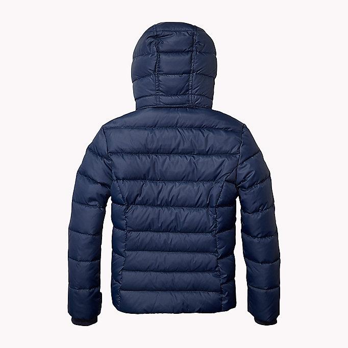 hooded down jacket tommy hilfiger official website. Black Bedroom Furniture Sets. Home Design Ideas