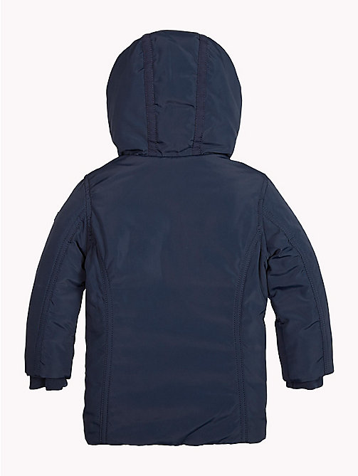 TOMMY HILFIGER Hooded Parka - NAVY BLAZER - TOMMY HILFIGER Girls - detail image 1