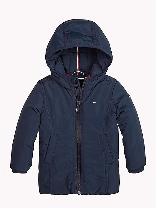 TOMMY HILFIGER Hooded Parka - NAVY BLAZER - TOMMY HILFIGER Girls - main image