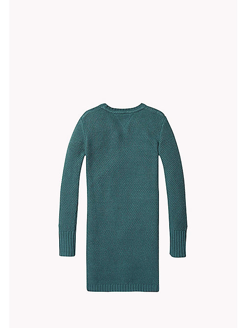 TOMMY HILFIGER Sweater Dress - GREEN GABLES - TOMMY HILFIGER Kids - detail image 1