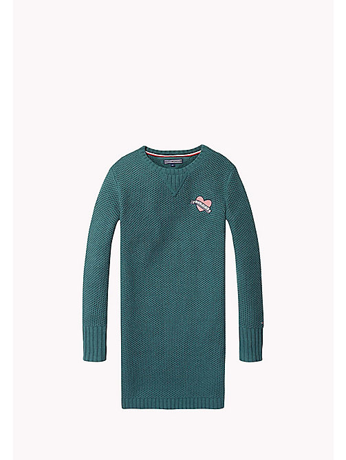 TOMMY HILFIGER Sweater Dress - GREEN GABLES - TOMMY HILFIGER Kids - main image