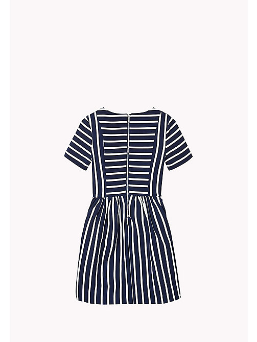 TOMMY HILFIGER Striped Dress - NAVY BLAZER - TOMMY HILFIGER Girls - detail image 1