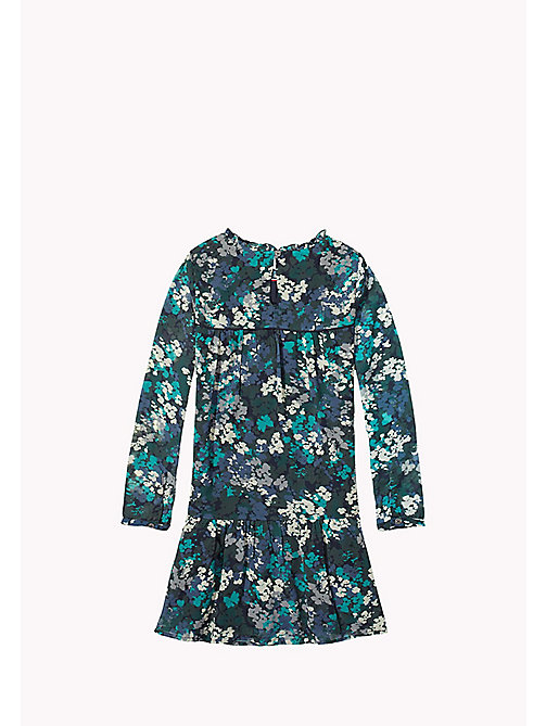 TOMMY HILFIGER Flower Print Dress - GREEN GABLES - TOMMY HILFIGER Girls - detail image 1
