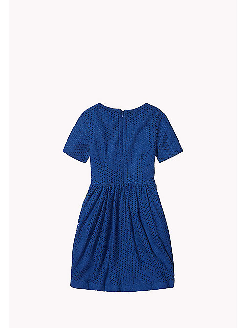 TOMMY HILFIGER Lace Dress - ESTATE BLUE - TOMMY HILFIGER Girls - detail image 1
