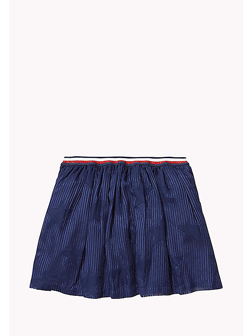 TOMMY HILFIGER Printed Skirt - NAVY BLAZER - TOMMY HILFIGER Girls - detail image 1