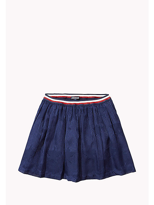 TOMMY HILFIGER Printed Skirt - NAVY BLAZER - TOMMY HILFIGER Girls - main image