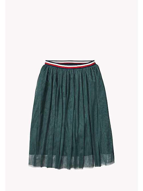 TOMMY HILFIGER Tulle Skirt - GREEN GABLES - TOMMY HILFIGER Girls - main image
