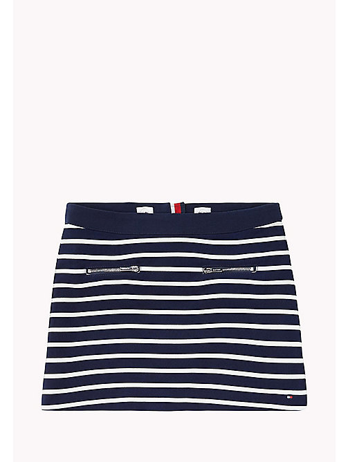 TOMMY HILFIGER Striped Skirt - NAVY BLAZER - TOMMY HILFIGER Kids - main image