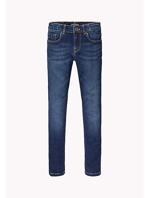 TOMMY HILFIGER Jean skinny fit - COLORADO DARK BLUE STRETCH -  Pantalons & Jupes - image principale